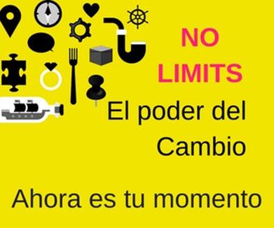Cartel del Taller No Limits-El poder del Cambio-Coaching