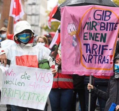 Screenshot Facebook-Seite, ver.di Niedersachsen-Bremen