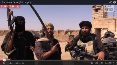 "Screenshot des Videos ""The Islamic State"" von Vice News"