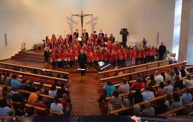 Jubiläumsgottesdienst in St. Petrus und Paulus in Schwieberdingen