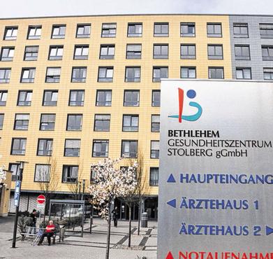 Das Stolberger Bethlehem Gesundheitszentrum ist das geburtenstärkste Krankenhaus der Region. Nun hat das Stolberger Standesamt hier eine eigene Servicestelle eingerichtet. Foto: S.-L. Gombert