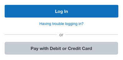 Sample image of what you will see at the PayPal payment site.
