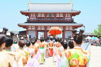 寧鼓座 和太鼓 奈良 平城京 天平祭