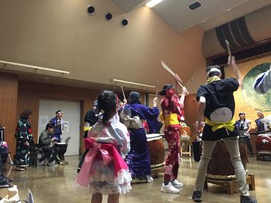 奈良 和太鼓ワークショップ Taiko workshop
