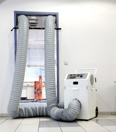 Luftreinigung und Staubabsaugung