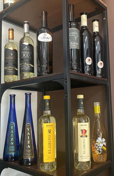 Vinos canarios - Comidas La Sabrosa