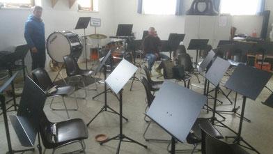 ... und ein paar neue Konzertnotenständer