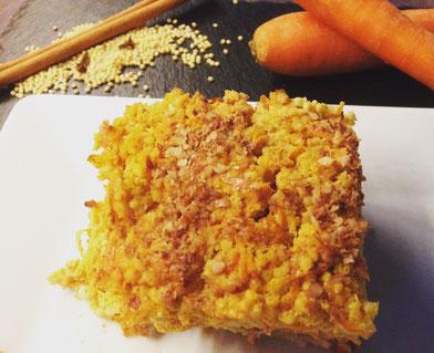 Hirse-Karotten-Auflauf