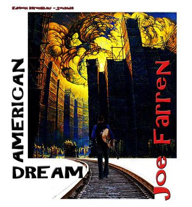 """In der Subkategorie SOUNDS wird im Frühjahr 2014 die auf 33 Exemplare handsignierte EP """"American Dream"""" von Joe Farren erscheinen. Coverartist: Michael Hutter"""