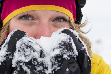 Regionalsport Mädls Team Daniela Hochmuth POW Protect Our Winters Innsbruck Tirol Vorchdorf Oberösterreich Freeriden Snowboard Austria