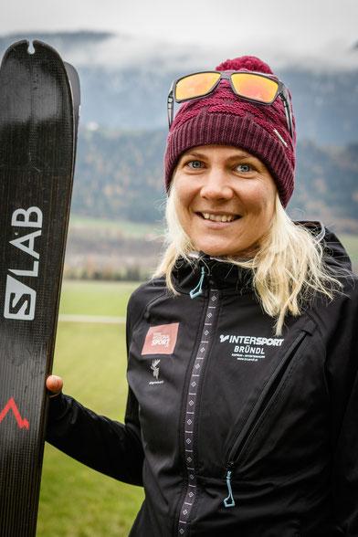 Kristin Berglund Traillauf Skibergsteigen Salomon Regionalsport Mädls Frauen Damen Team Tirol Österreich