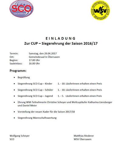 SCO-Preisverteilung 29.04.2017