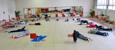 Gym du mardi matin = réveil corporel