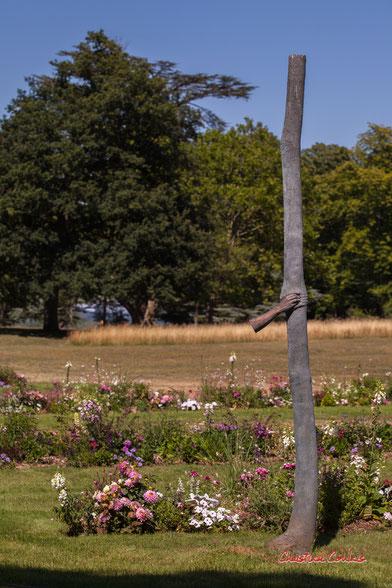 Trattenere 8 anni di crescita, 2004-2012, installation de Giuseppe PENONE en 2016. Parc historique, domaine de Chaumont-sur-Loire. Lundi 13 juillet 2020. Photographie © Christian Coulais