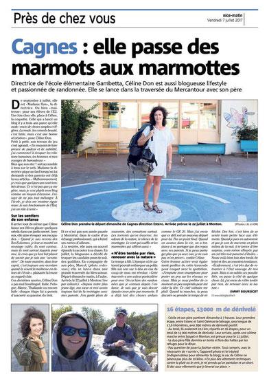 la grande traversée du Mercantour blog de Céline