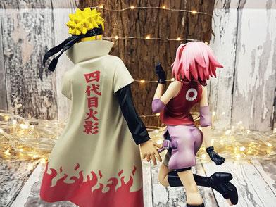 Naruto Uzumaki & Sakura Haruno Figures - Linda Kess