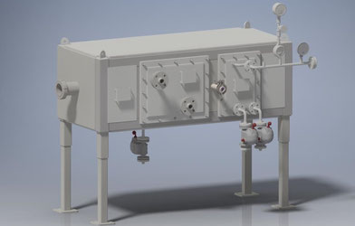 High Pressure Heat Exchanger Unit (Rectangular Design)