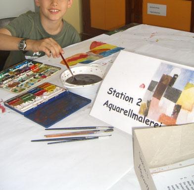 Kunstunterricht Grundschule