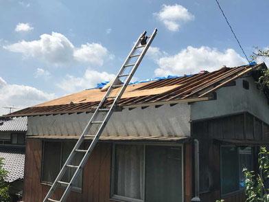 屋根・外壁のリフォーム前