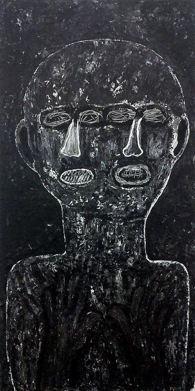 Moi et Toi 2: Acryl auf Leinwand, 120 x 60 cm, 2019