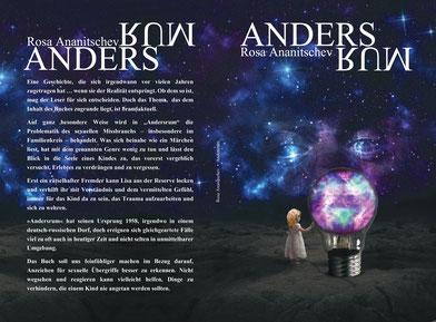 """Cover zum Buch von Rosa Ananitschev """"Andersrum"""""""