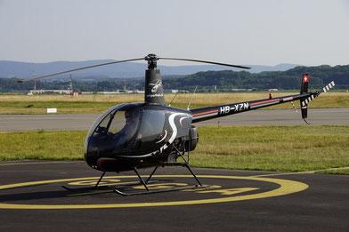 Elite Flights, Robinson R22, HB-XZN, Schnupperflug, Übungsflug, Helikopterpilotenausbildung, Luzern-Beromünster