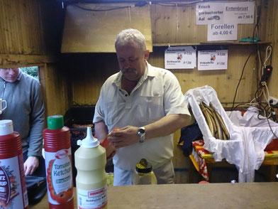 Für leckers Essen sorgt immer unser Foodmanager Horst