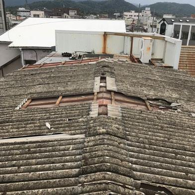 屋根工事(施工前)