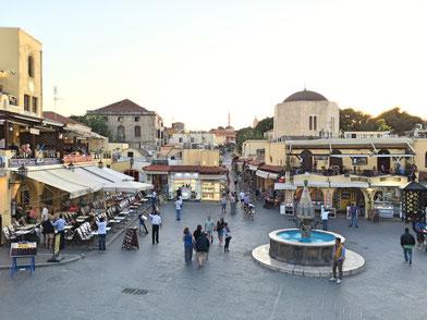 Zentraler Platz in der Altstadt