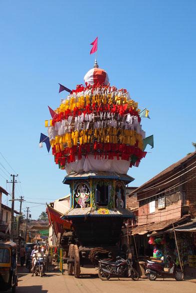 Chariot in Gokarna