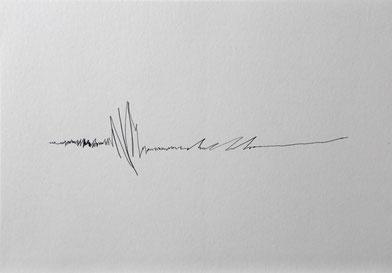 Kunst Berlin Lucia Fischer Zeichnung Sinneshorizont