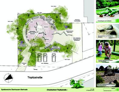 Spielplatzumgestaltung Tirpitzstraße