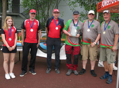 Esslinger Bogenschützen Compound auf dem Sommercup in Ludwigsburg-Hohenacker