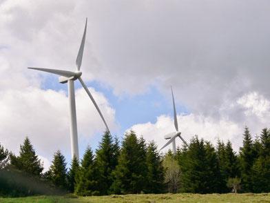 Cros de Géorand éolienne Commune energie renouvelable