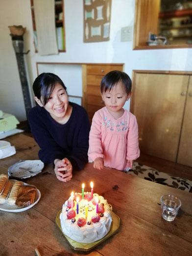 陶芸家 ブログ 茨城県笠間市 女性陶芸家 お正月 バースデイケーキ 誕生日