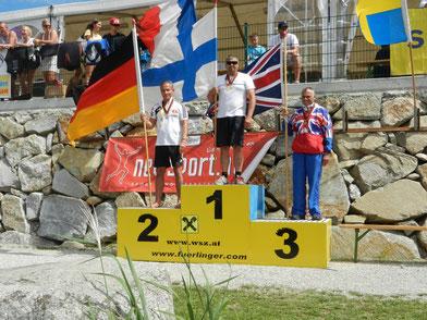 Europameisterschaft Barfußwasserski Wallsee 2014