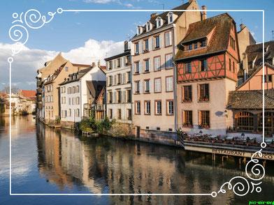 Viel Fachwerk und viel Mittelalter in Petit France