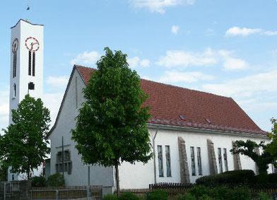 Friedenskirche Kulmbach, Pfarrer Rolf Dieling