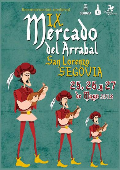 Programa del Mercado Medieval en Segovia
