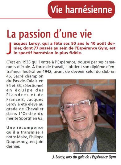Article a propos de Jacques.