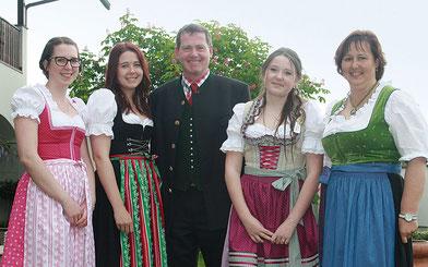 Familie Hillerzeder, Sperlbauer Anthering
