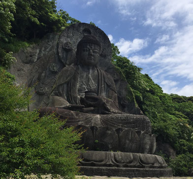 鋸山(大仏広場)・日本一の大仏様~薬師瑠璃光如来