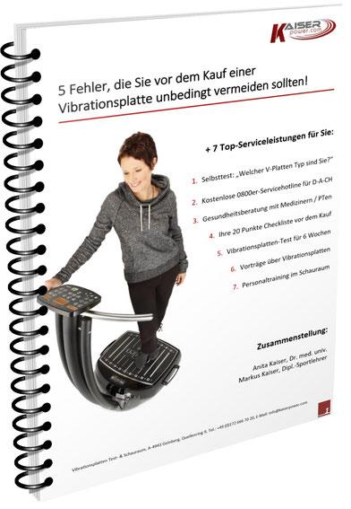 e-Book Vibrationsplatten Test, Vergrößern: Klick auf Bild!