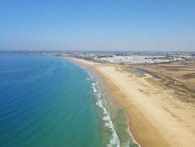 Yoga & Surf Urlaub in Andalusien, Conil