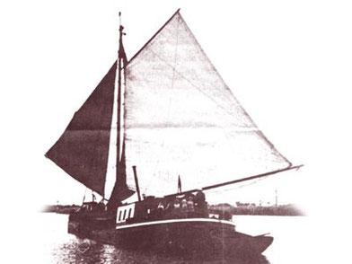 FORTUNA im historischen Frachtbetrieb