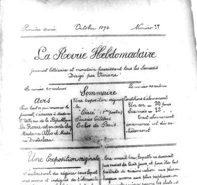 La Revue Hebdomadaire (N° 17, octobre 1896)