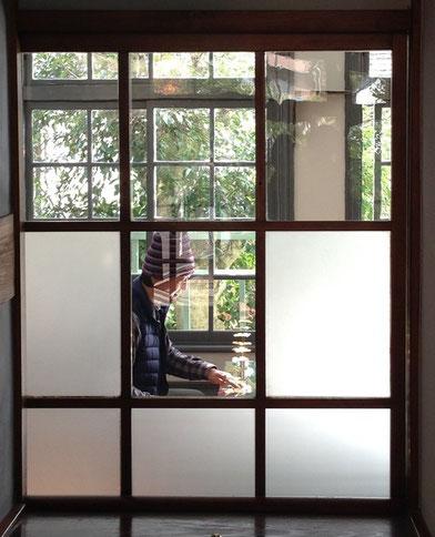 富士の山ビエンナーレ 蒲原宿 旧五十嵐邸 設営写真 2014 撮影・小川つかさ