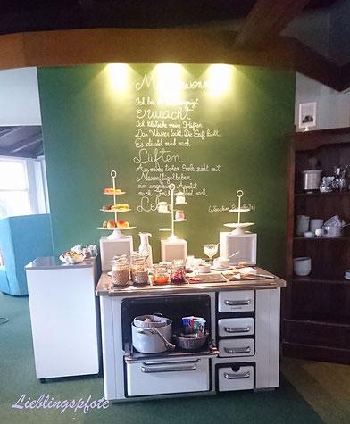 Frühstücksbuffet im Hotel meerzeit