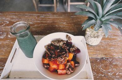 vegane restaurants und cafes bali