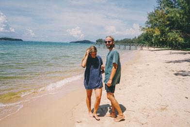 Kambodscha zweidiereisen Otres Beach
